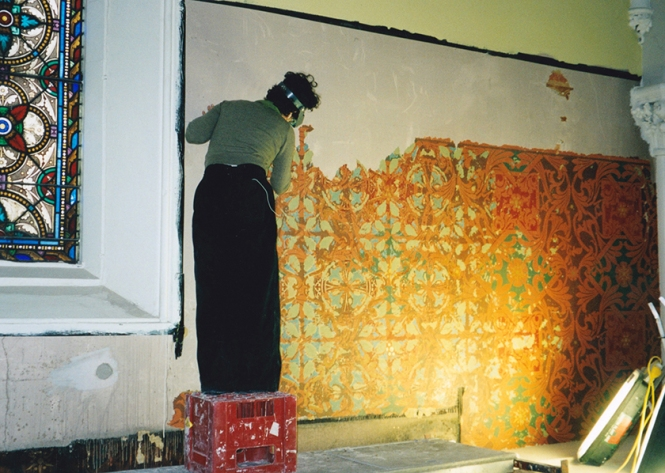 Frieze restoration