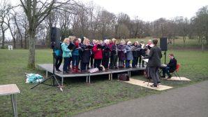 Lark in the Park Performance